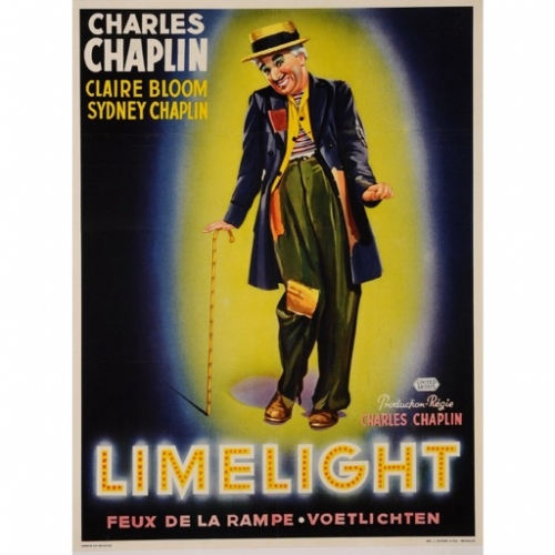 """Limelight""- Poster (Charlie Chaplin, 1952)"